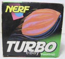 VTG 1992 TONKA KENNER NERF TURBO FOOTBALL SAFE SOFT FUN MIB BRAND NEW UNUSED (n)