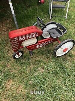 VTG AMF GO TRAC Pedal Tractor Chain Drive Early All-Metal