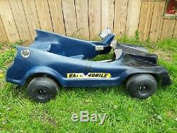Very Rare Vintage 1976 National Periodical Batman Batmobile Pedal Riding Toy