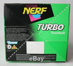 Very Rare Vintage 1992 Nerf Turbo Football Kenner New Sealed