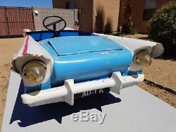 Very Rare Vintage Prototype Pedal Car Chevrolet Bel Air 1950's Toy Car