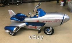 Very Rare Vintage Supersonic Jet Fully Restored Pedal Car