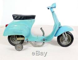 Vespa KinderBaby Pedal Car Scooter Rare Vintage Made In Italy