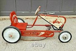 Vintage1950s 50s AMF Scat Car Junior Chain Drive Pedal Car racer