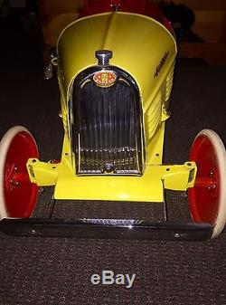 Vintage 1930 Eureka Bugatti Pedal Car