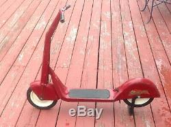 Vintage 1930's Chief Scooting Star Push Scooter