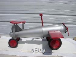 Vintage 1930's Keystone Ride'Em Fighter Plane Rare Nice! L@@K