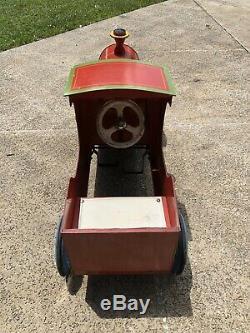 Vintage 1930s Antique Leeway Flyer Pedal Car
