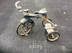 Vintage 1930s Velocipede Skippy Streamline Tricycle Prewar 12 Front Wheel
