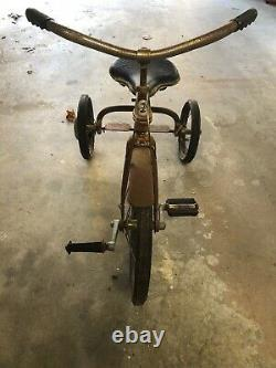 Vintage 1930s era Velo King Tricycle Trike