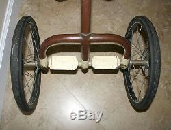 Vintage 1930s era Velo King Tricycle Trike Bike Bicycle