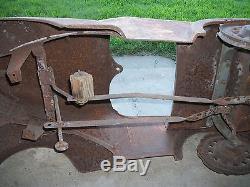 Vintage 1940's Fordpedal car