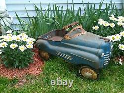 Vintage 1940's Murray Pontiac Pedal Car