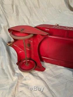 Vintage 1940s 1050s Hy Speed Hyspeed Wagon Original Paint airflow scamp desoto
