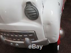 Vintage 1940s Murray 611 Fire Chief Jet Flow Drive Pedal Car Fresh Paint & Decal