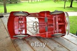 Vintage 1941 Chrysler Pedal Car Original Pedal Car from early 1940's