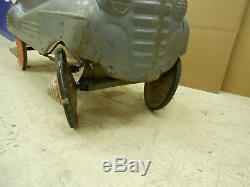 Vintage 1941 Steelcraft Pontiac Original Pedal Car