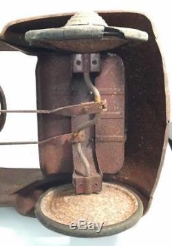 Vintage 1941 Unrestored Chrysler Peddle Car Rare Find Perfect For Restoration