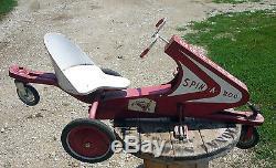 Vintage 1950's GARTON Pedal Car SPIN-A-ROO L@@K