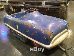 Vintage 1950's Garton Kidillac Deluxe Pedal Car Carnival Ride Old Original