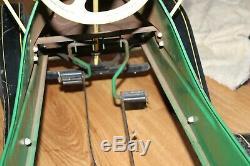 Vintage 1950's Garton Tin Lizzie Pedal Car Green