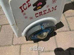 Vintage 1950's Murray L-950 Good Humor Ice Cream Pedal Car Truck Bike Trike