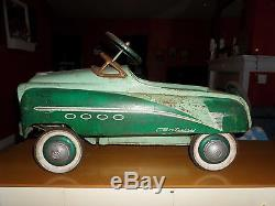 Vintage 1950's Murray Pedal Car Century model 100% Original withSPARE TIRE