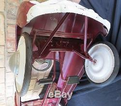 Vintage 1950's Murray Sad Face RANCH WAGON Pedal Car CLEAN Toy