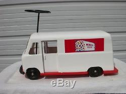 Vintage 1950's Roberts U-Ride-It / Wonder Bread Box Van RARE! L@@K