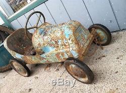 Vintage 1950s BMC 8 Ball Special Pedal Race Car Sprint Midget Super cool