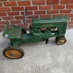 Vintage 1950s Eska John Deere Large 60 Pedal Tractor