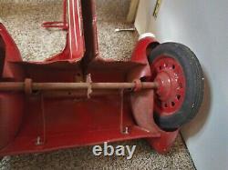 Vintage 1950s Garton Space Cruiser Full Size Pedal Car Orig Rare Pedal Car