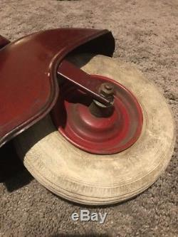 Vintage 1950s HWH Marjet Pedal Scooter Car Vespa with Training Wheels Germany