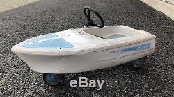 Vintage 1950s Murray DOLPHIN Pedal Car Boat Original Old Toy Rare