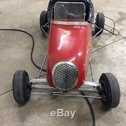 Vintage 1950s Quarter Midget Race Car Go Kart Rare All Original