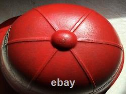 Vintage 1951 Soap Box Derby Helmet Turret Body By FISHER CHEVROLET Original
