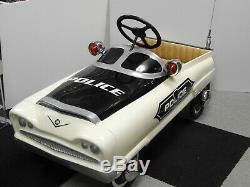 Vintage 1956 Garton Mark V Police Peddle Car Professionally Custom Restored