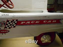 Vintage 1960'S MurraySpeedway 500 Pace Car