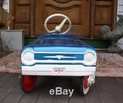 Vintage 1960's AMF Jet Sweep Pedal Car