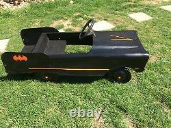 Vintage 1960's Amf Bat Mobile Pedal Car Custom Paint