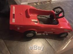 Vintage 1960's Empire Toys 1968 1969 Stingray Corvette Pedal Car RARE