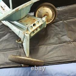 Vintage 1960's Mattel X-15 Vrroom! Pedal Car Trike Jet Plane