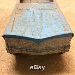 Vintage 1960's Pressed Steel Murray Tee Bird Pedal Car Blue USA