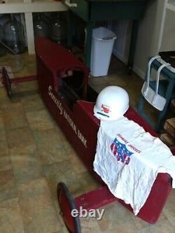 Vintage 1960s-1970s Soap Box Derby Car LOCAL PICKUP ONLY NO SHIPPING AVAILABLE