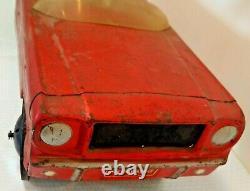 Vintage 1960s AMF Metal Pedal Car FORD MUSTANG Original Barn Find Fresh Estate