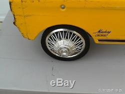 Vintage 1960s A. M. F. Mustang #535 Pedal Car