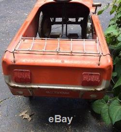 Vintage 1960s Mustang Pedal Car