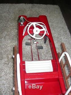 Vintage 1960s Original Murray Fire Truck Pedal Car