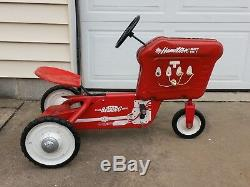 Vintage 1963 Hamilton Pedal Car Tractor, with Spark Plugs