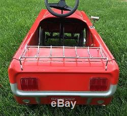 Vintage 1964 Mustang Pedal Car Collectible Original Rare Antique
